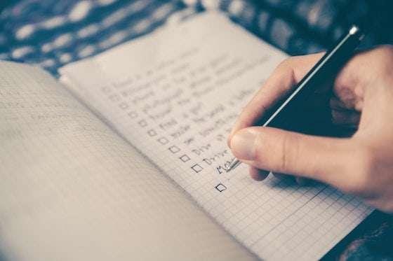 non-fiction author marketing to-do list