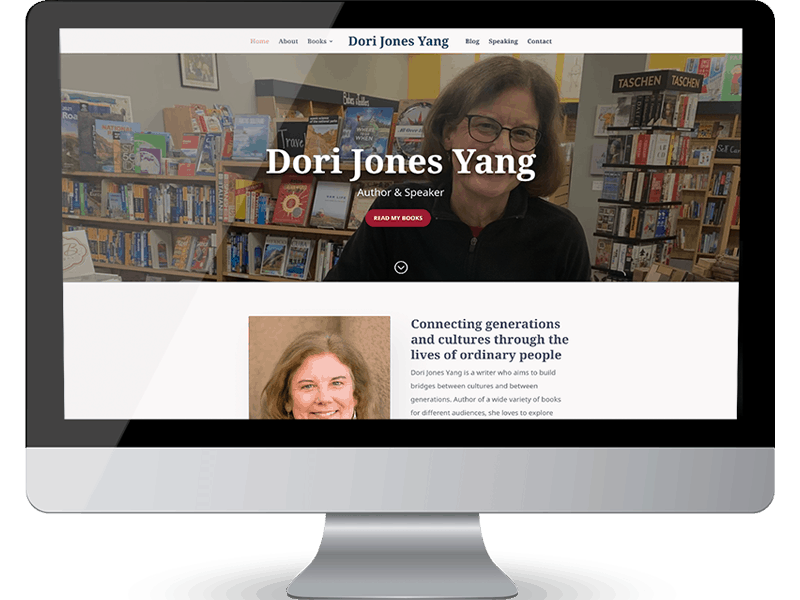 Dori Jones Yang author website